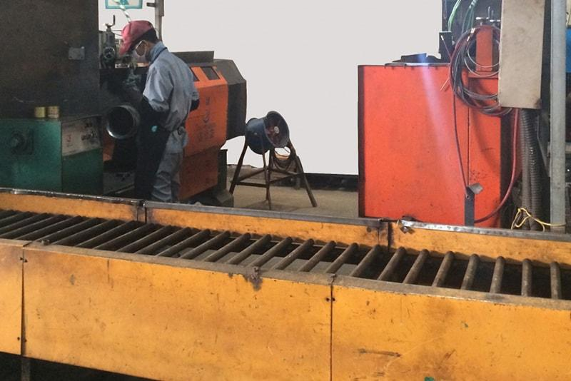 Argon arc automatic welding machine
